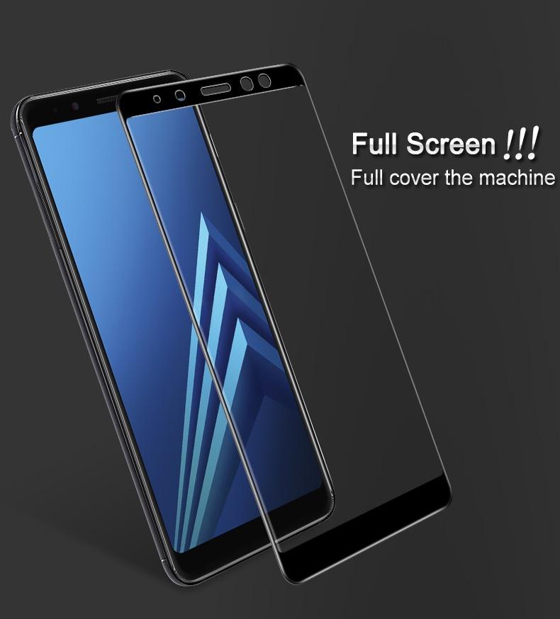Samsung A8 2018 (เต็มจอ) - ฟิลม์ กระจกนิรภัย P-one 9H 0.26m ราคาถูกที่สุด