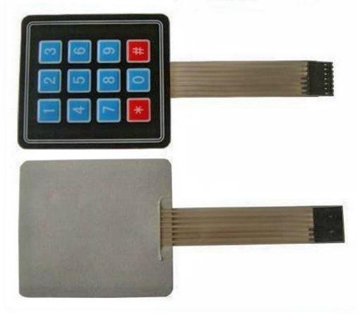 3x4 Matrix Keypad 4x3