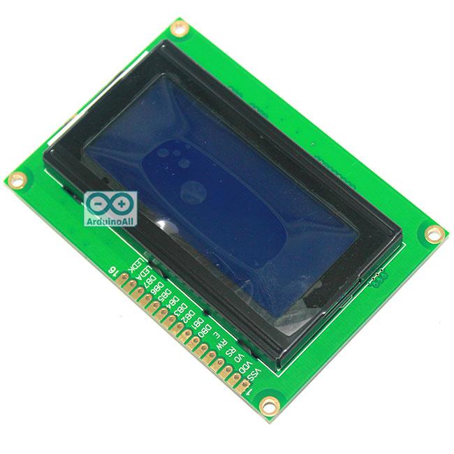 LCD 1604 Module 16x4 จอ LCD 1604 ขนาด 16 ตัวอักษร 4 บรรทัด สีน้ำเงิน 5V