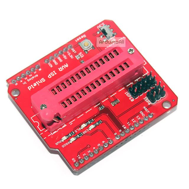 AVR ISP Shield สำหรับโปรแกรม IC Arduino