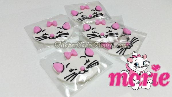 กัมเพสรูปแมว Marie ( 5 ชิ้น )