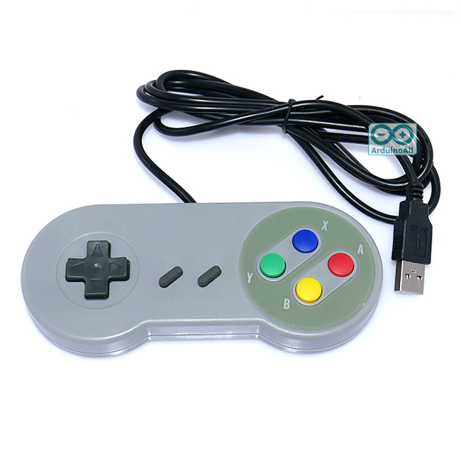 Raspberry Pi 2/3 SNES Joystick USB Plug-and-Play