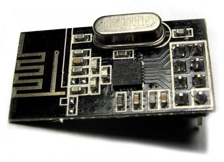 NRF24L01 Module สื่อสารไร้สาย 2.4G พร้อมวีดีโอสอนใช้งาน Wireless NRF24L01 2.4GHz