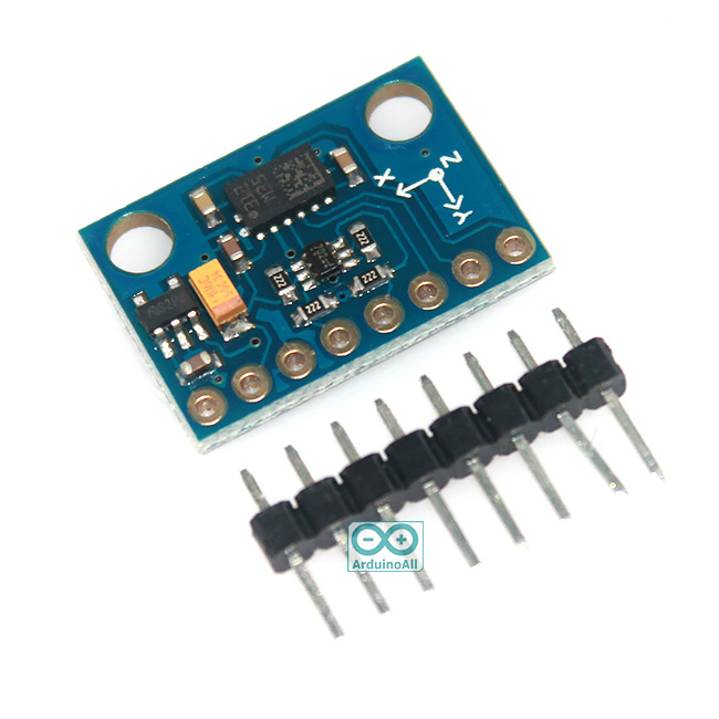 GY-511 3-Axis Accelerometer + Magnetometer Compass Module I2C Interface LSM303DLHC