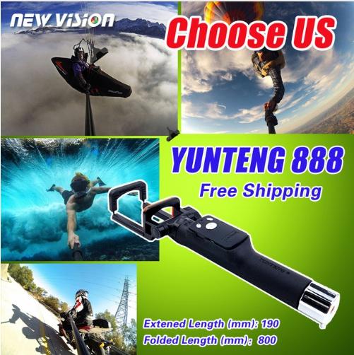 Yunteng YT-888 Bluetooth Selfie Stick mini Monopod (ไม้เซลฟี+รีโมท Bluetooth) แท้