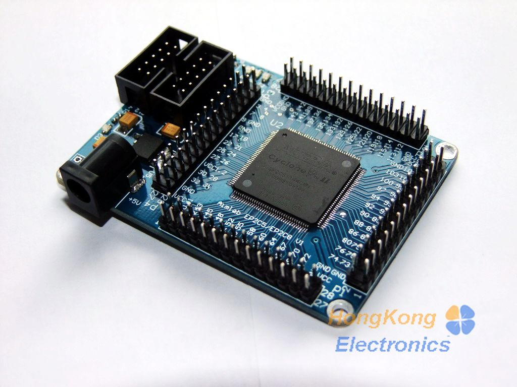Altera Cyclone II EP2C5T144 FPGA Mini Development Board