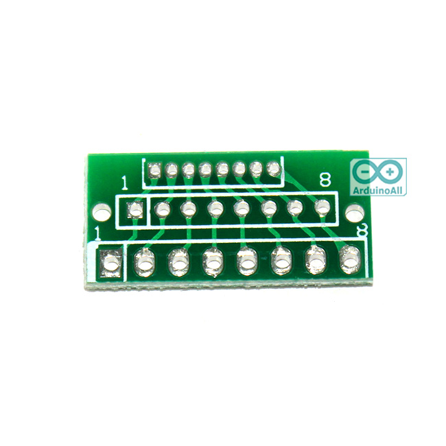 1.27MM 2.0MM 2.54MM 8-pin adapter for a wireless module adapter plate