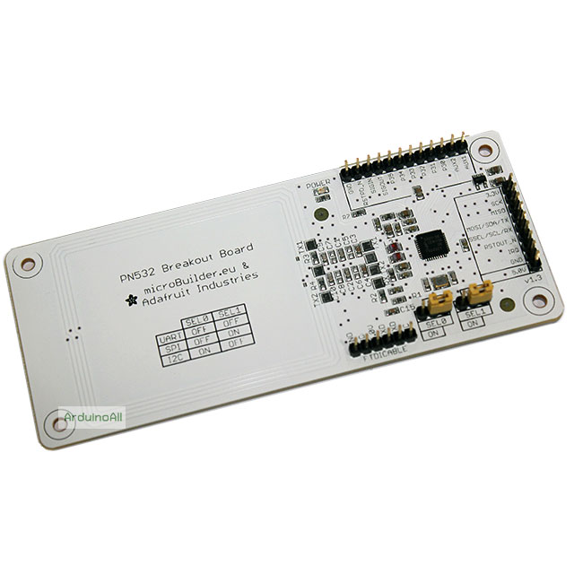 RFID NFC PN532 Shield IC Card Expansion Boards for Arduino with White Card