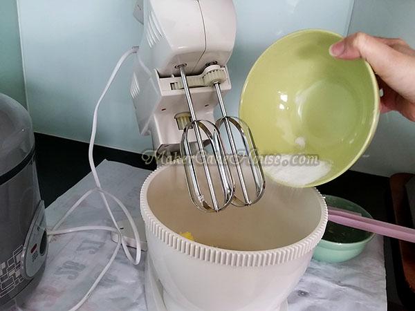 วิธีทำคุกกี้ไส้คัสตาร์ด 2