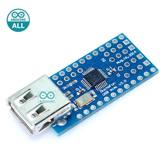 Mini USB Host Shield 2.0 Arduino ADK