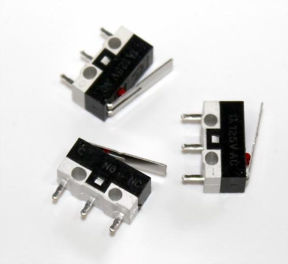 ไมโครสวิตช์ Mouse tripod stalk switch Tact Switch Micro Switch 1A 125V AC