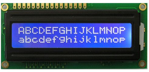 1602 LCD (Blue Screen) 16x2 LCD with backlight of the LCD screen