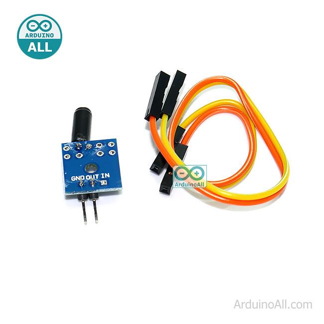เซนเซอร์ความสั่น Vibration sensor with small board PCB Normally open type