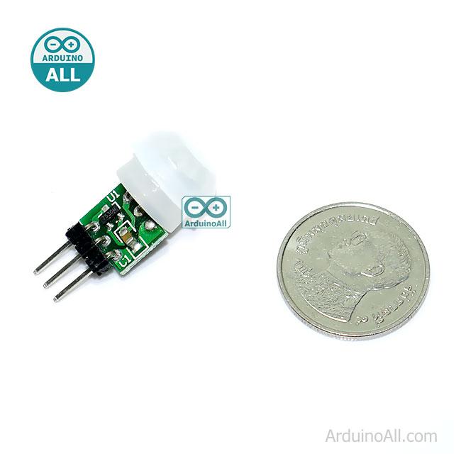 Micro PIR human body sensing module PIR module infrared module เซนเซอร์ PIR ตรวจจับความเคลื่อนไหวของสิ่งมีชีวิต