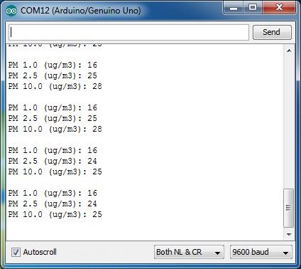 PM2 5 PMS7003 + Adapter เซ็นเซอร์ตรวจจับฝุ่นละออง วัดคุณภาพ