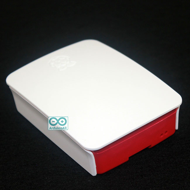 Raspberry Pi 2/3 Case box red and white