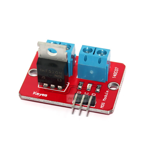 Power Electronic Switch Relay รีเลย์แบบอิเล็กทรอนิกส์ Switch mosfet IRF520N Relay Driver Module Power Electronic Saitch Relay