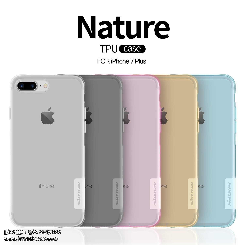 iPhone 7 - เคสใส Nillkin Nature TPU CASE สุดบาง แท้