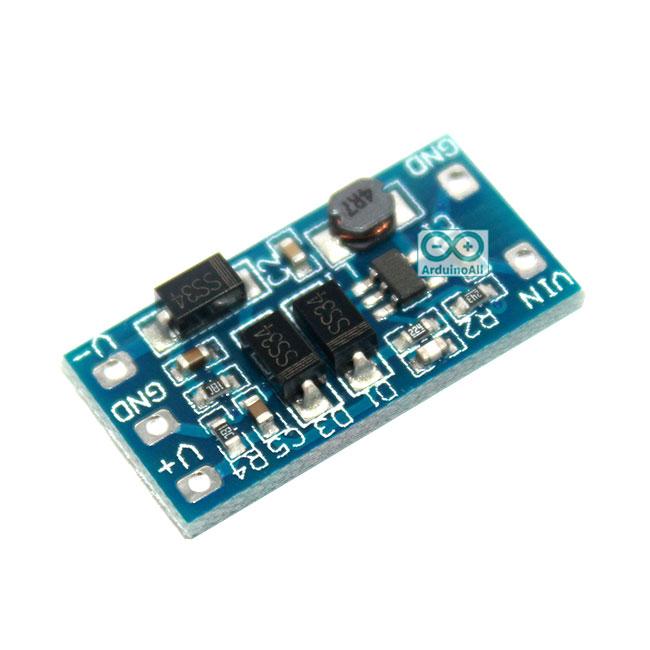 Signal Power supply module 2.8V ~ 5.5V to positive and negative 12V step up แปลงไฟ 2.8-5.5V เป็น ไฟ +-12V