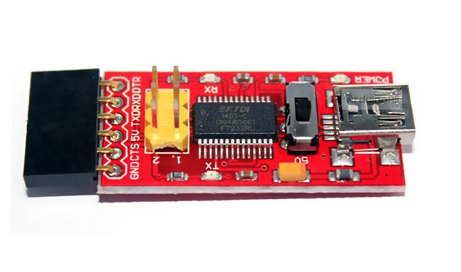 FTDI Platinum Program Downloader USB TTL FT232 Chip พร้อมสาย USB