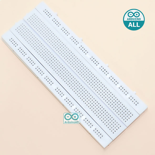 บอร์ดทดลอง Breadboard 840 Point breadboard GL-12 175x67x8mm hole board universal