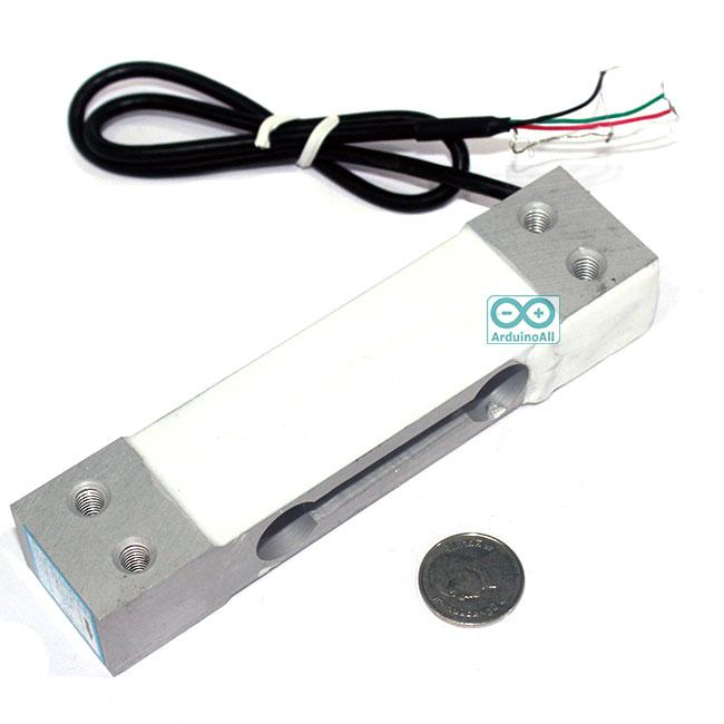 Weight Sensor Load Cell 0-10 kg เซนเซอร์วัดน้ำหนักแบบ load cell วัดได้ 0-10 kg