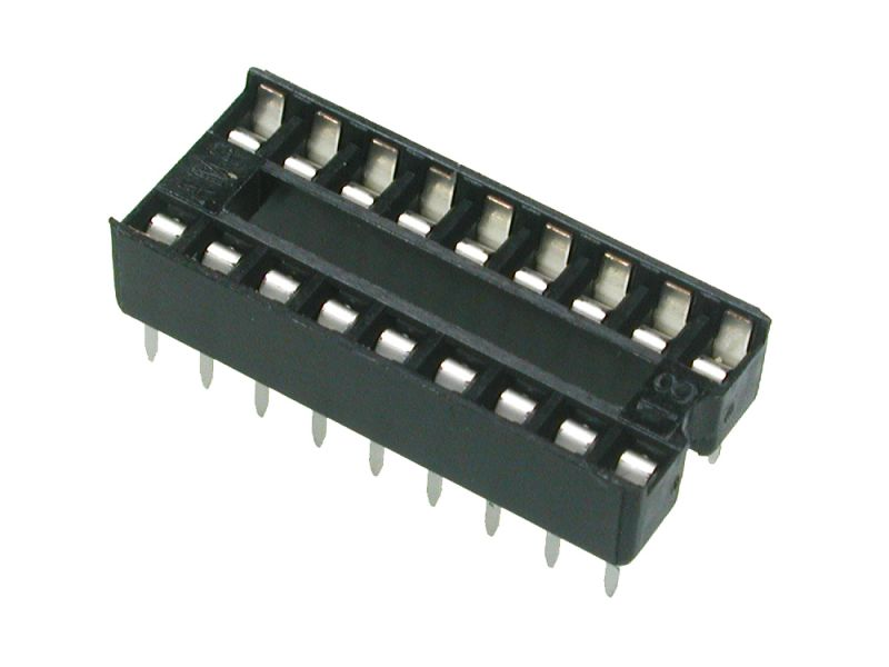ซ็อคเก็ต socket 18 pin DIP IC Sockets Adaptor