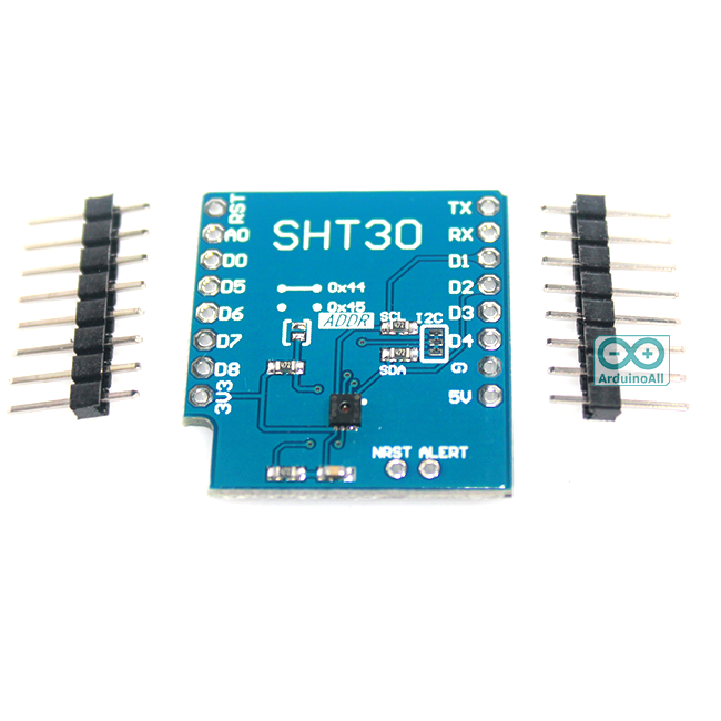 Wemos Shield SHT30 temperature and humidity sensor module