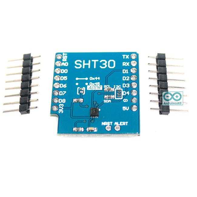 Wemos Shield SHT30 temperature and humidity sensor module