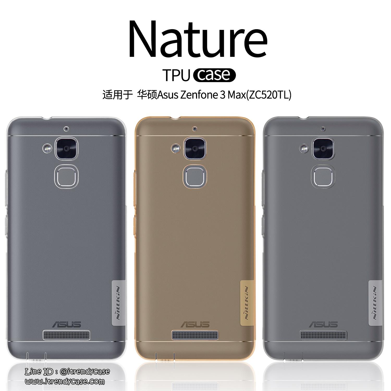 "ASUS ZenFone 3 Max 5.2"" - เคสใส Nillkin Nature TPU CASE สุดบาง แท้"