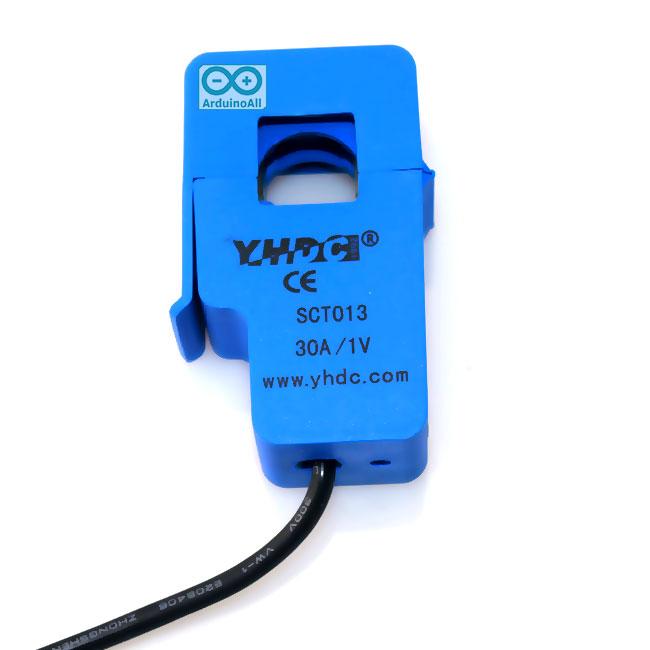 SCT-013-030 CT 0-30A to 0-1V Non-Invasive Current Sensor เซนเซอร์วัดกระแสไฟฟ้าแบบครอบ 30A