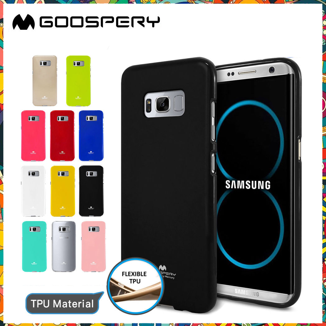 Samsung Galaxy S8 - เคส TPU Mercury Jelly Case (GOOSPERY) แท้