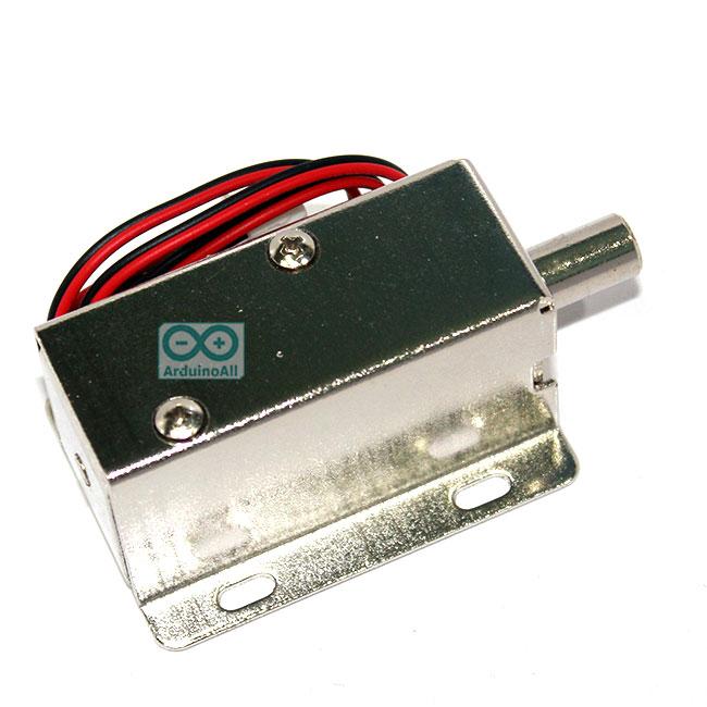 กลอนไฟฟ้า กลอนแม่เหล็ก อิเล็กทรอนิกส์ 9-12V