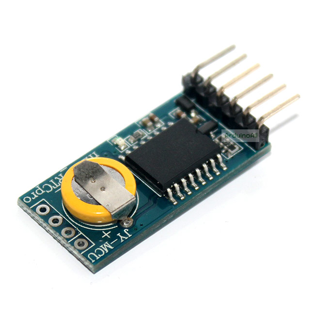 DS3231 High Accuracy Real Time Clock Module Arduino โมดูลนาฬิกาพร้อมถ่านชาร์จ