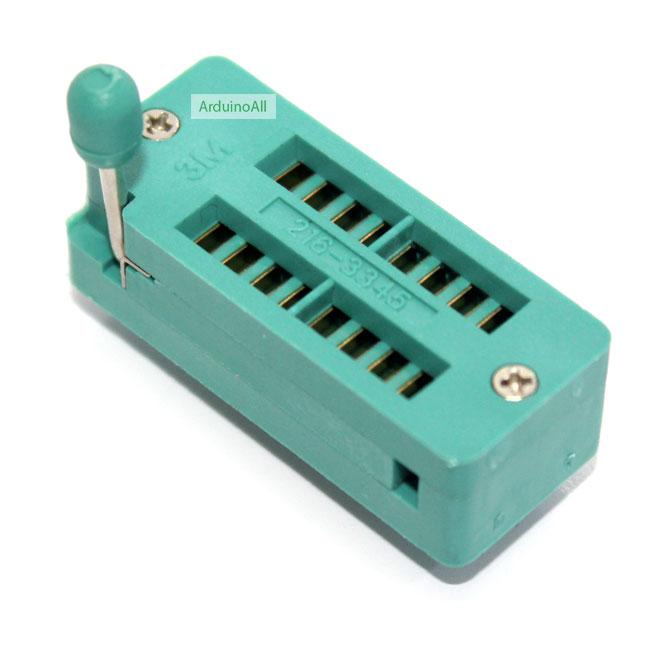 ZIF Socket 16 Pin Universal ZIF Dip Tester IC Test Socket