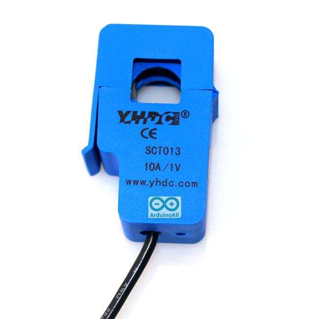 SCT-013-010 CT 0-10A to 0-1V Non-Invasive Current Sensor เซนเซอร์วัดกระแสไฟฟ้าแบบไร้สัมผัส 10A