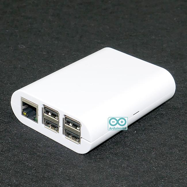 Raspberry Pi 2/3 shell case box กล่อง เคส Raspberry Pi 2/3 สีขาว