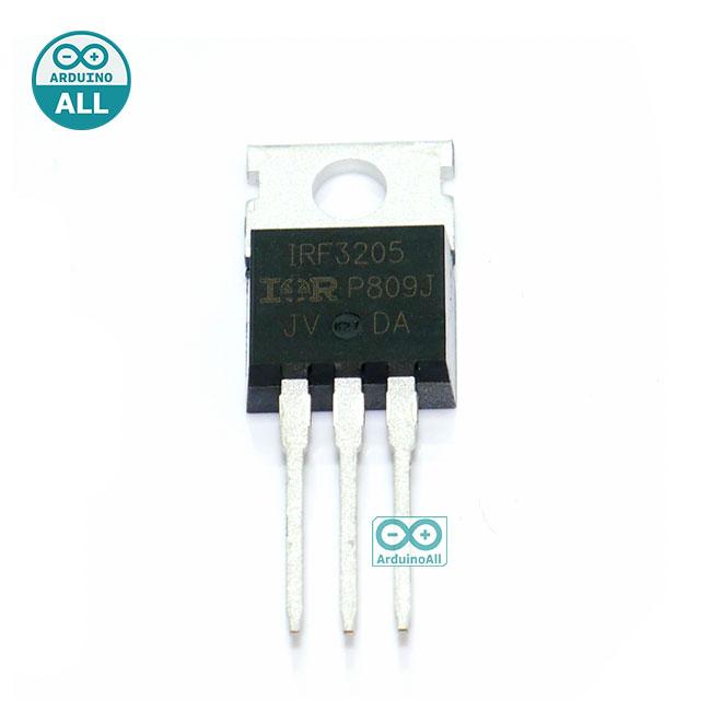 IRF3205 ไอซีเพาเวอร์มอสเฟต IRF3205 N-Channel 55V 110A 200W Power MOSFET