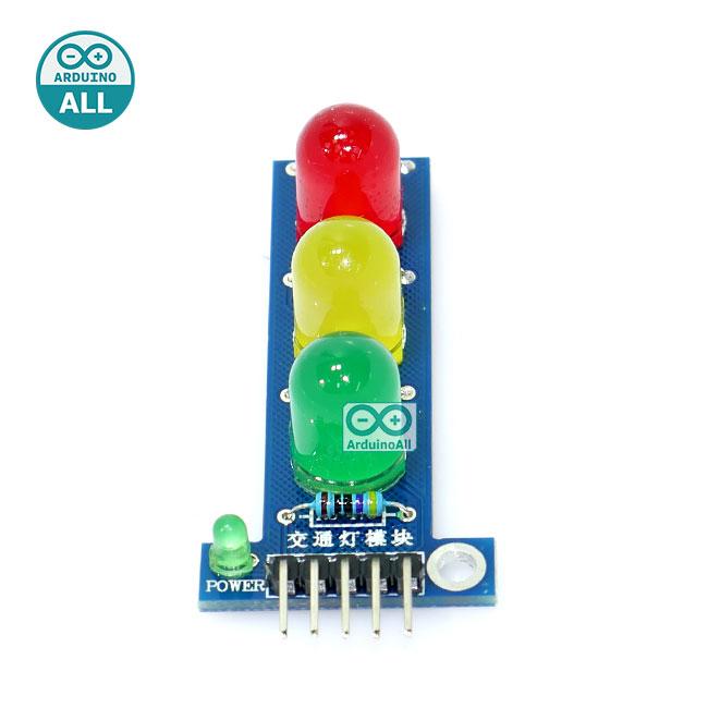 LED Module 3 traffic light หลอดไฟ LED ขนาดใหญ่ 10mm 3 สี แบบไฟจราจร