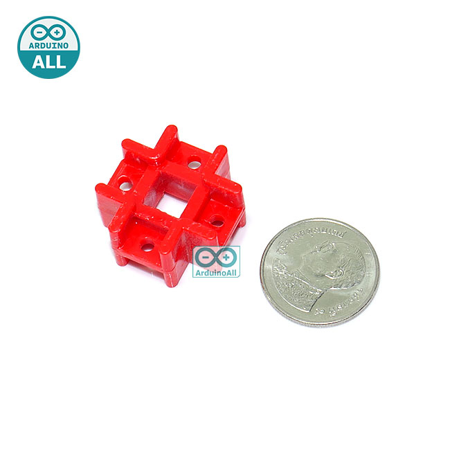 Plastic ABS cross connector holder
