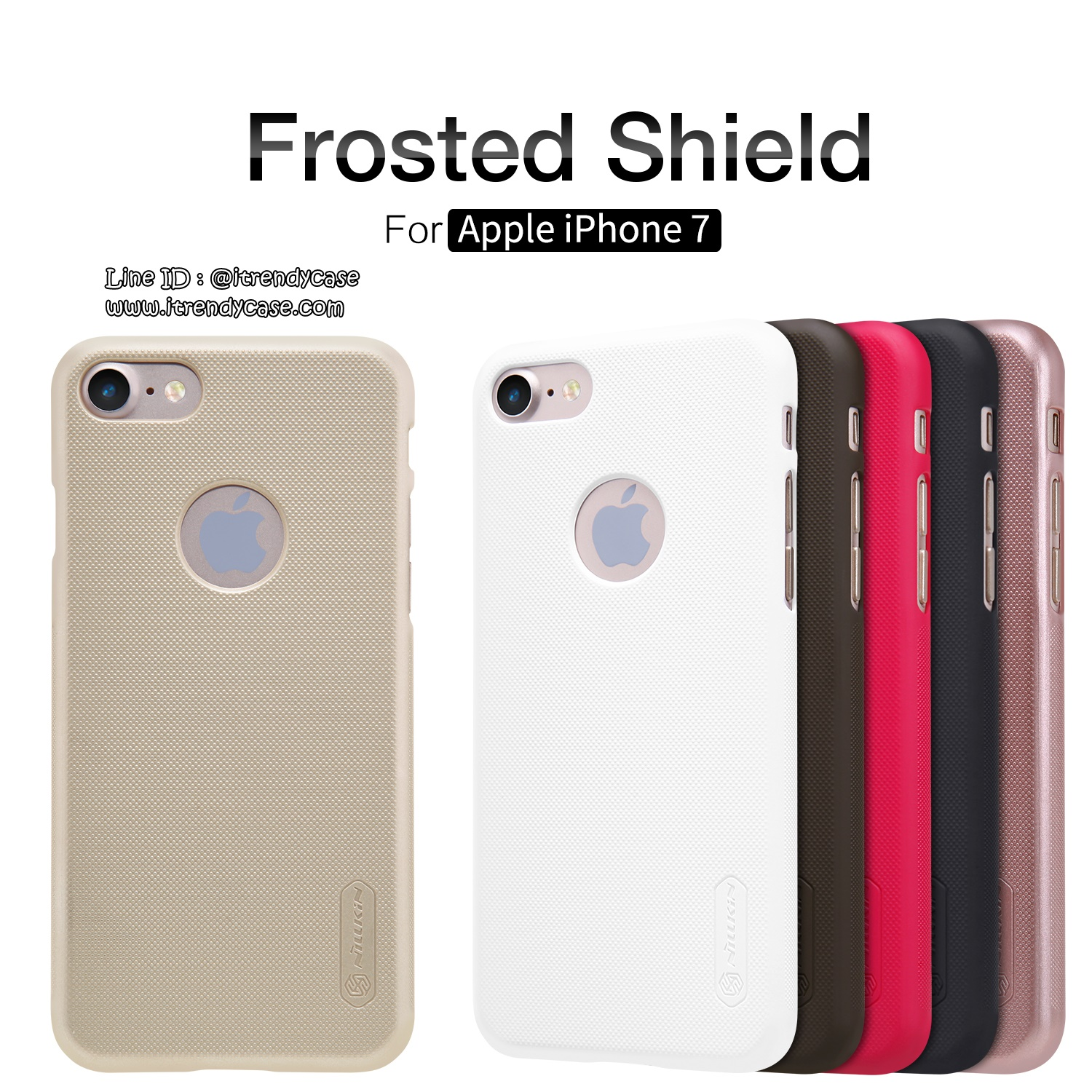 iPhone 7 - เคสหลัง Nillkin Super Frosted Shield แท้