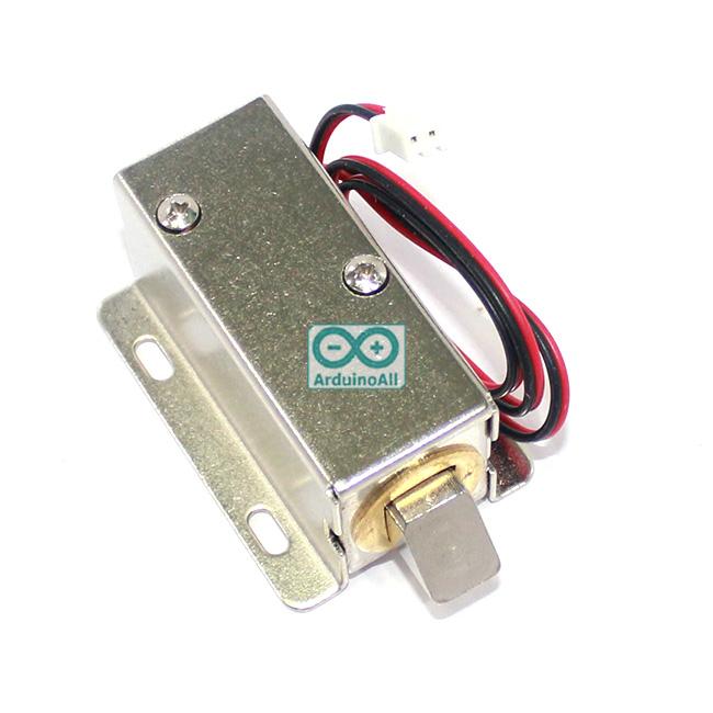 กลอนไฟฟ้า กลอนแม่เหล็ก อิเล็กทรอนิกส์ 12-24V
