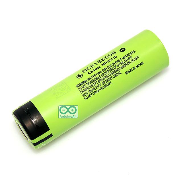 Panasonic NCR18650B Large capacity 3400mAh 3.7V lithium battery Panasonic 3400mA