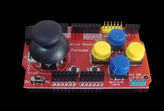 JoyStick Shield expansion board for arduino