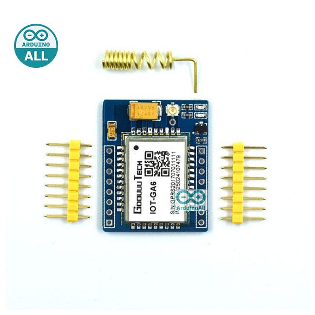 SIM800L GA6 mini GPRS/GSM Module A6 SMS/Voice Development Board Wireless Data SIM800L โมดูล GSM SIM800L