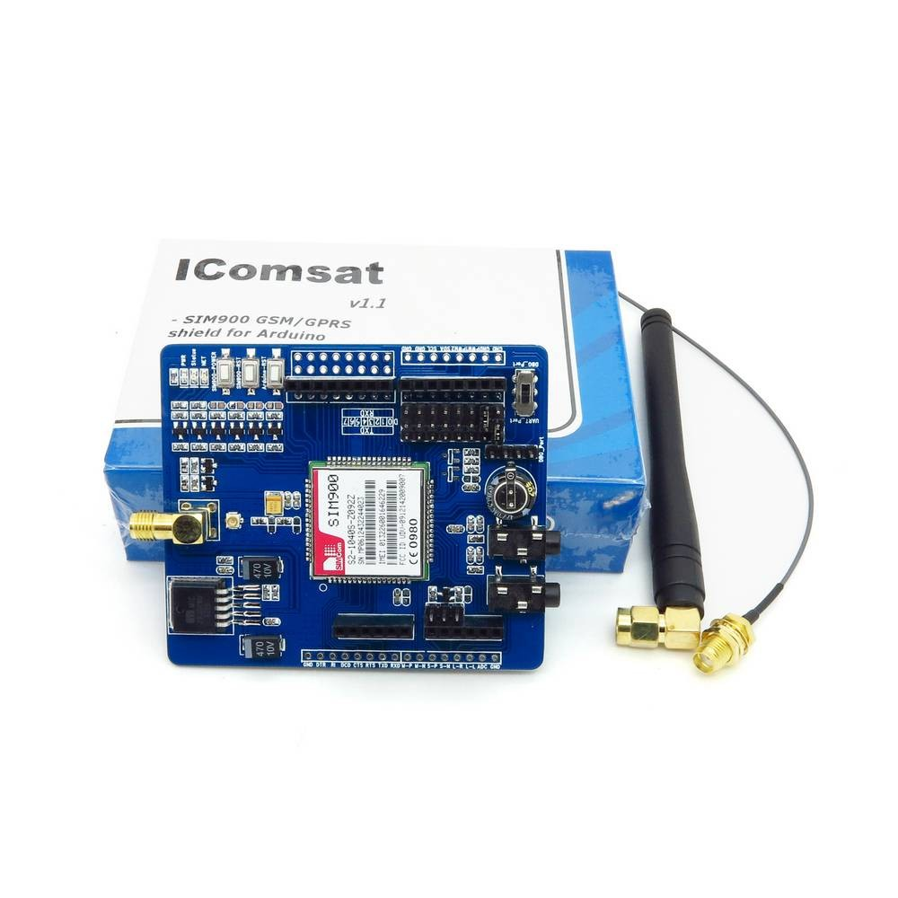 โมดูล SIM900 GSM/GPRS Arduino shield SIM900 GSM/GPRS Shield for Arduino UNO MEGA 2560