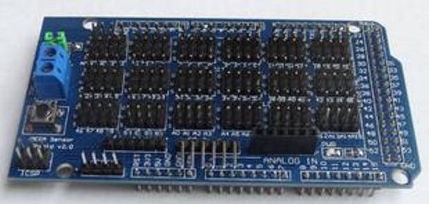 Arduino MEGA Sensor Shield สำหรับ Arduino Mega