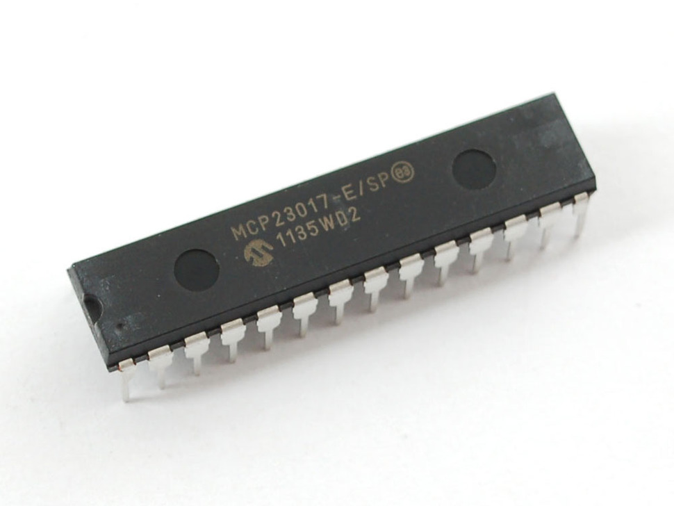 IC ขยายขา 16 ขา I/O สำหรับ Arduino เบอร์ MCP23017