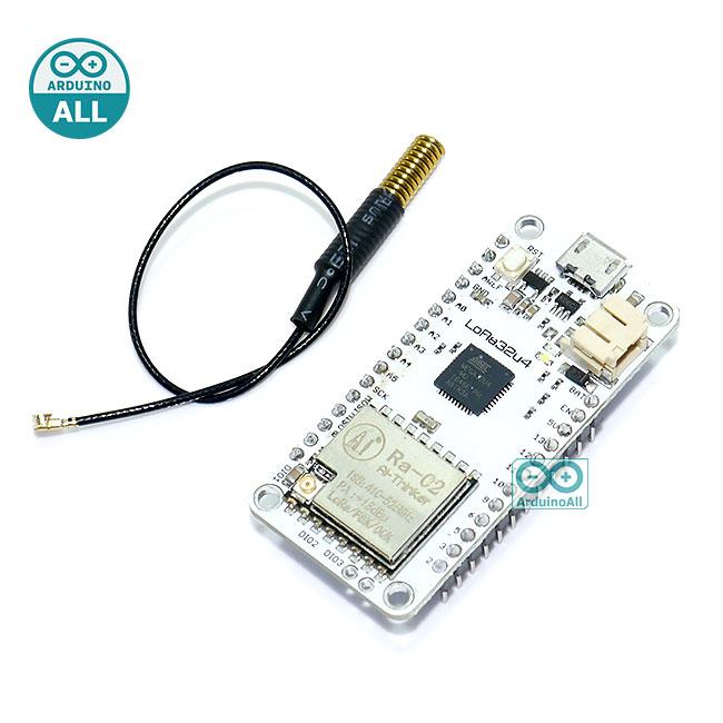 LoRa32u4 LORA RA-02 Module Development Board 1KM LiPo Atmega32U4 SX1278 for Arduino