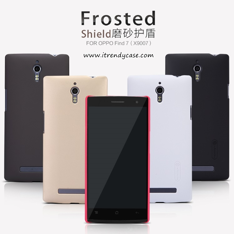 OPPO Find7, 7a - เคสหลัง Nillkin Super Frosted Shield แท้